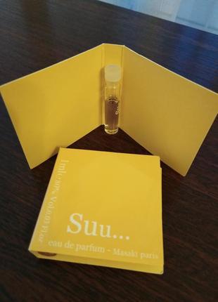 Masaki matsushima suu  оригинальный пробник