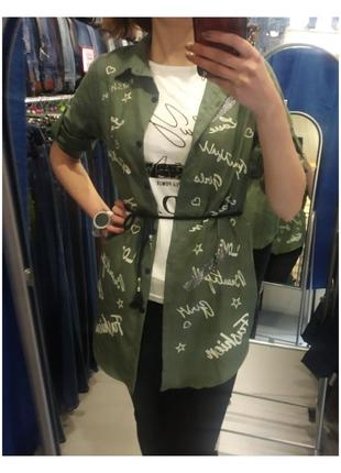 Рубашка - накидка4 фото