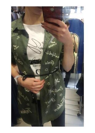 Рубашка - накидка3 фото