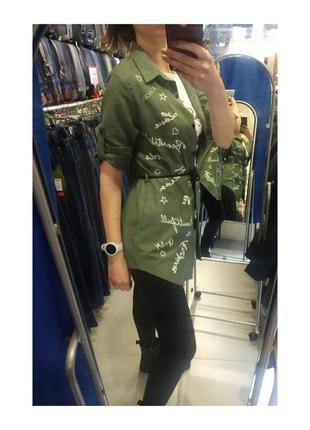 Рубашка - накидка2 фото