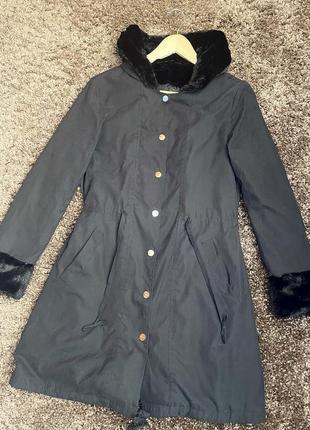 Куртка парка на эко меху fb sister