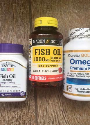 Для мужчин премиум omega 3 fish oil