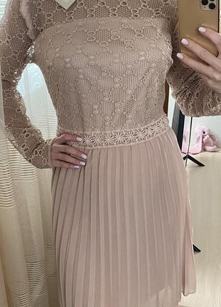 Новое пудровое платье италия vanessa scott