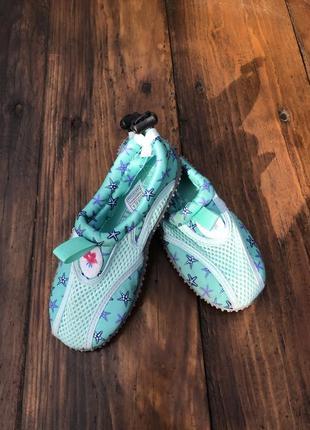Обувь для пляжа и кораллов lupilu рожеві аквашузы