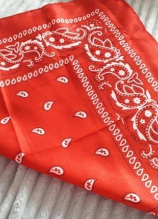 Бандана косынка платок на голову женский детский