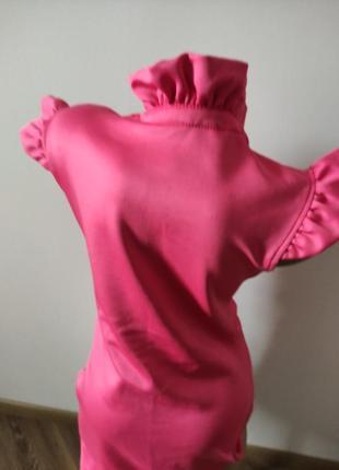 Розовое платье2 фото