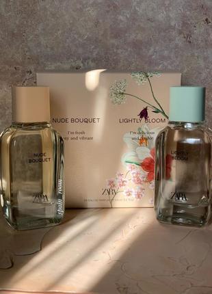 Духи zara lightly bloom/nude bouquet/жіночі парфуми /парфюм