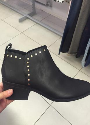 Ботинки осенние h&m