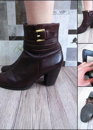 Продам кожаные  ботинки ессо