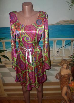 Красивое яркое платье!2