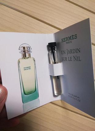 Духи парфюм пробник un jardin sur le nil от hermes ☕ объём 5мл1 фото