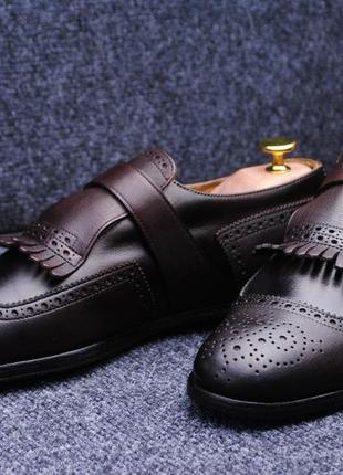 Prada туфли лоферы монки оригинал 43р ( 28см )