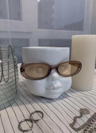 Элегантные прямоугольные винтажные ретро очки