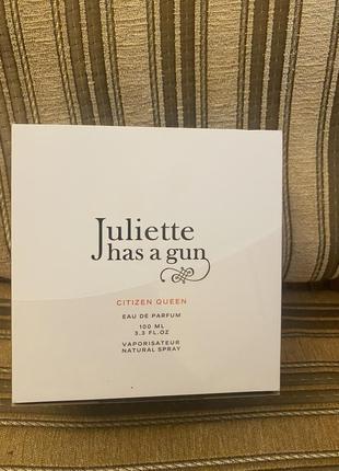 Парфюм juliette has a gun. citizen queen. оригинал