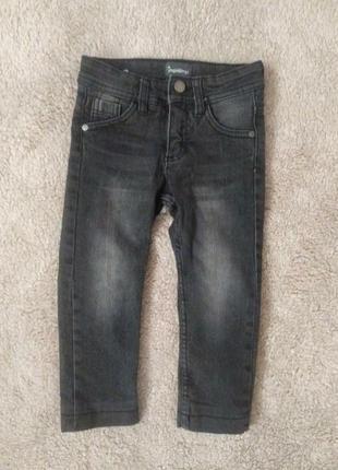 Стильные утепленные джинсы для малыша🤩