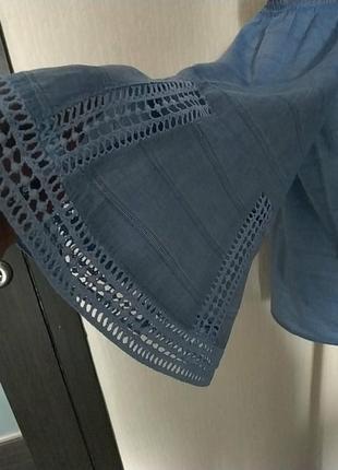 Легкая блуза кофта разлетайка.