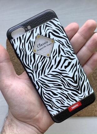 Чехол черный белый на для айфон iphone 7 + плюс plus силиконовый