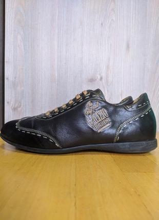 Кроссовки туфли кожаные galizio torresi