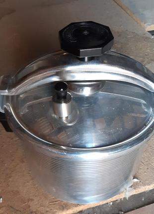 Скороварка пароварка 6 литров, кастрюля