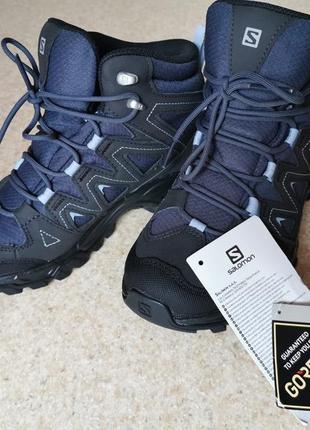Новые женские трекинговые ботинки salomon lyngen mid gtx gore-tex р.37-37,5