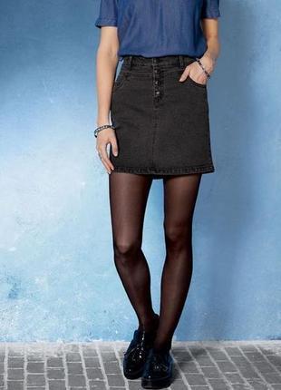 Новинка!! женская джинсовая юбка с новой коллекции esmara германия.