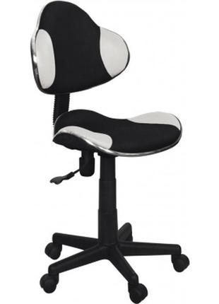 Кресло signal q-g2 белый/черный (obrqg2czb)