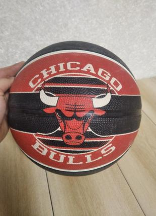 М'яч spalding chicago bulls nba team basketball