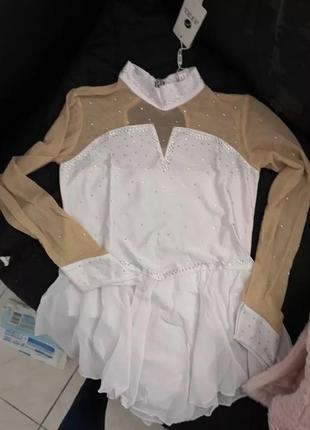 Платье для бальных танцев фигурного катания гимнастики