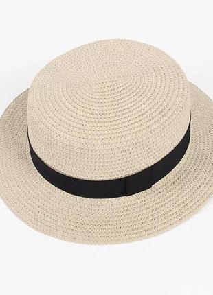 Соломенная шляпа, солом'яний капелюх, канотье