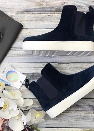Стильные ботинки monki в стиле sport chic  sh3708