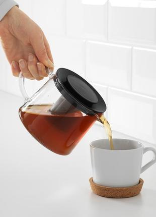 Чайник, скло, 0.6 л