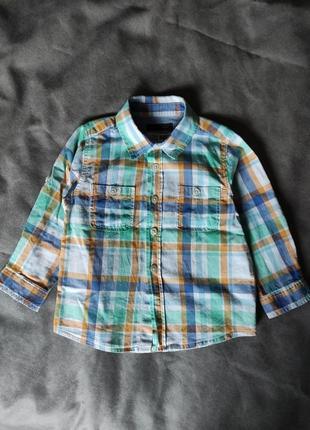 Рубашка zara 18-24 мес.