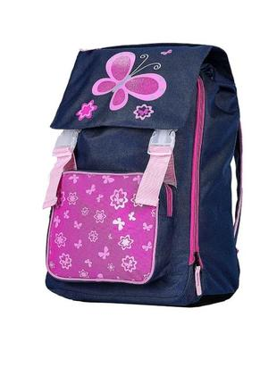 Качественный, стильный и очень вместительный рюкзак для девочки.