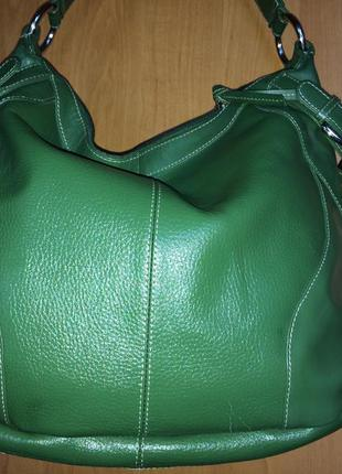 Красивейшая сумка tommy&kate/ кожа!