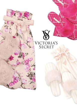 Тапочки от victoria's secret