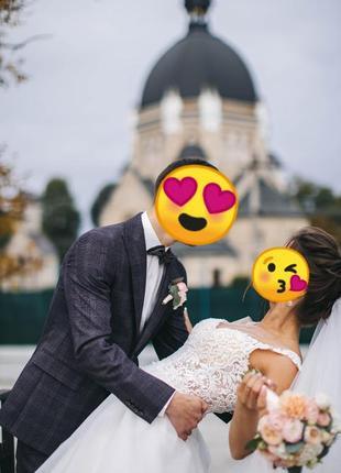 Весільна сукня (італійське мереживо)