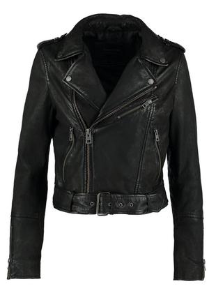 Новая косуха/куртка из мягчайшей замши. oakwood, франция l (46-48)