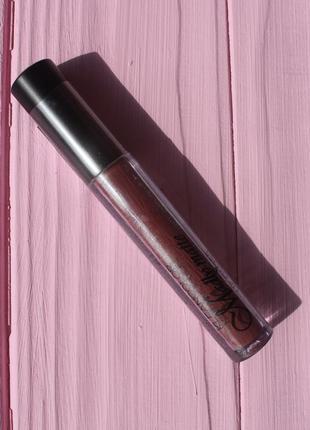 Жидкая матовая помада kleancolor madly matte коричневая