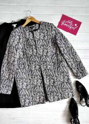 Красивый хлопковый пиджак nina kalio