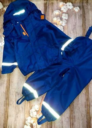 Дождевой костюм, дождевик, куртка и штаны tchibo германия. на рост 98-104