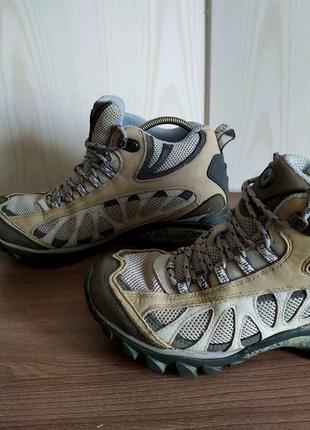 Ботинки кроссовки треккинговые merrell мембрана gore-tex (гортекс)