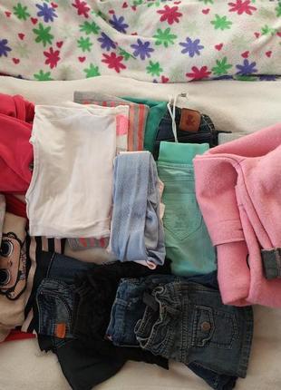 Пакет одягу для дівчинки  р. 104-110