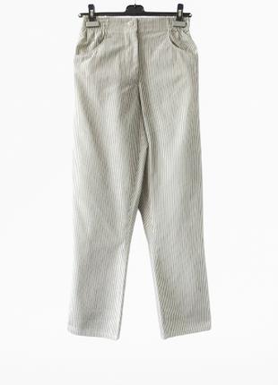 +зауженные брюки  высокая посадка  на резинке нишевого бренда aleksandra wisniewska польша