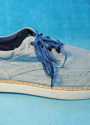 Джинсовые туфли stacy adams 45 размер 3