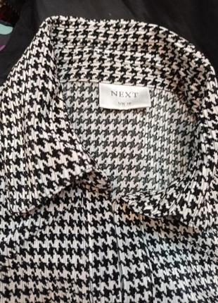 Офисная блуза гусиная лапка2 фото