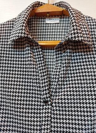 Блуза гусиная лапка