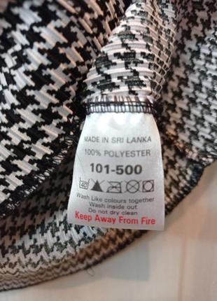 Офисная блуза гусиная лапка4 фото