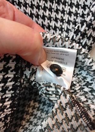 Офисная блуза гусиная лапка5 фото