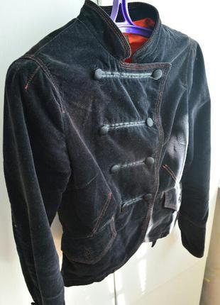 Пиджак вельветовый с подкладкой