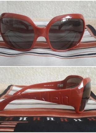 Брендовые солнцезащитные очки  calvin klein 837s1 фото